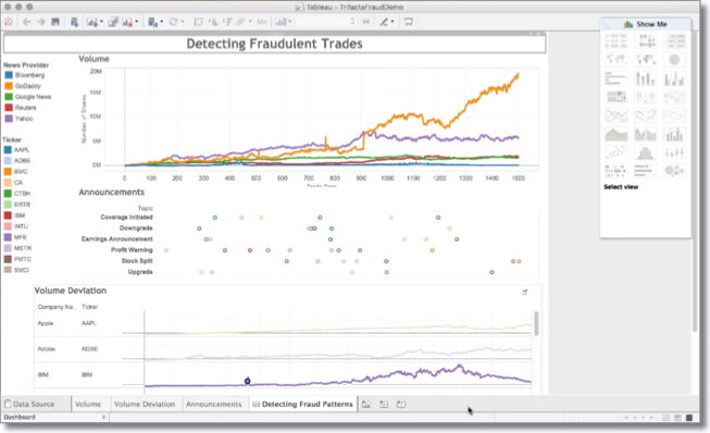 data wrangling on hadoop for fraud detection and investigation demo