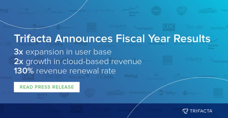 Trifacta Triples User Base And More Than Doubles Cloud-Based Revenue